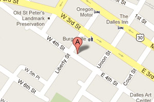 Map to Rebecca Street Physical Therapy